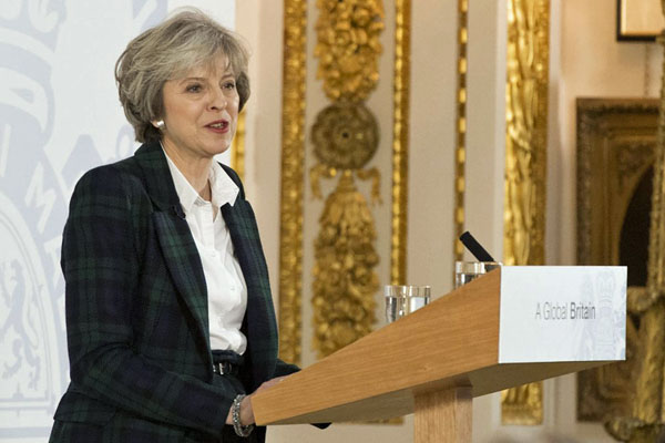 Brexit Moment: May's Lancaster House Speech